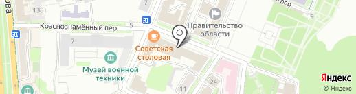 Проект Инжиниринг Девелопмент на карте Ульяновска