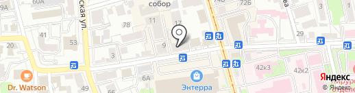 Антураж на карте Ульяновска