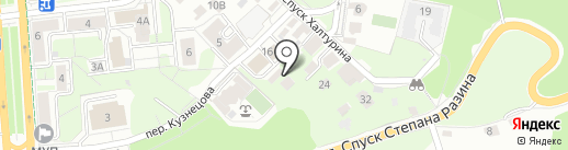 Торговая фирма на карте Ульяновска