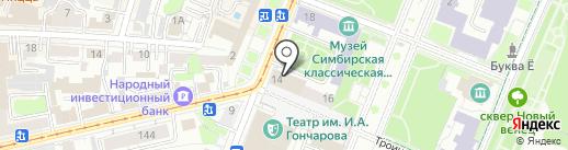 Управление образования администрации г. Ульяновска на карте Ульяновска