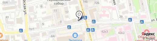 С.А.Н. на карте Ульяновска