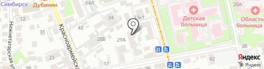 Future Fit на карте Ульяновска