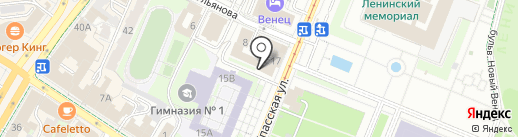 Трансфер-Ульяновск на карте Ульяновска