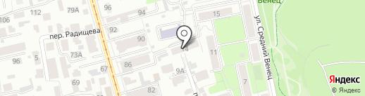 IT-Master на карте Ульяновска