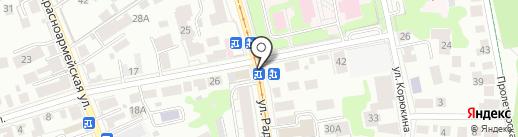 Пироговая №1 на карте Ульяновска