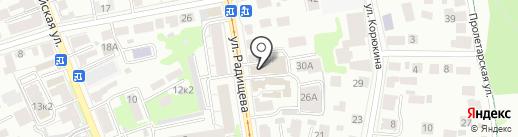 Профессиональный альянс строителей на карте Ульяновска
