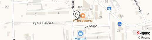 Онар на карте Приволжского
