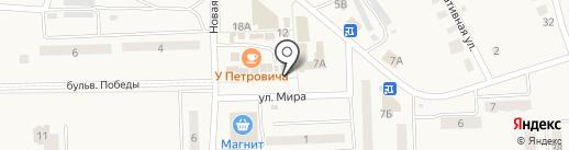 Мойдодыр на карте Приволжского