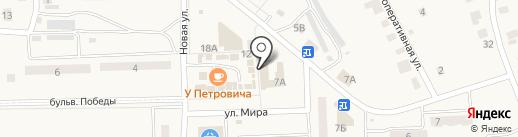 Магазин товаров для праздника на карте Приволжского