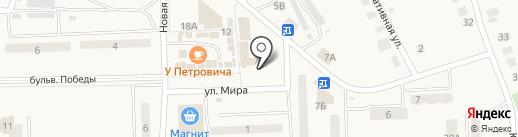 Домострой на карте Приволжского