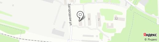 Почтовое отделение №8 на карте Зеленодольска