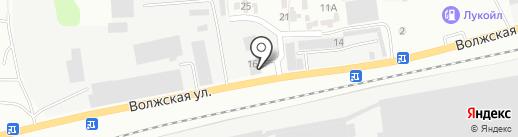 Автомойка на карте Зеленодольска