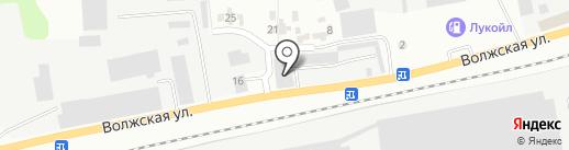 Зеленодольск-Лада на карте Зеленодольска