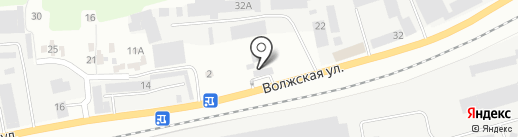 АЗС Гостойл на карте Зеленодольска