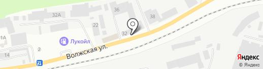 Окна 5+ на карте Зеленодольска