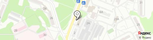Аварийно-диспетчерская служба на карте Ульяновска