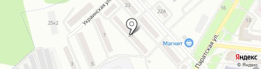 Айгуль, парикмахерская на карте Зеленодольска