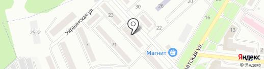 Магазин алкогольных напитков на карте Зеленодольска