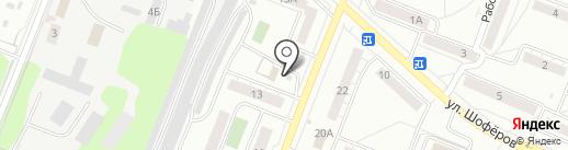 Пинта на карте Ульяновска