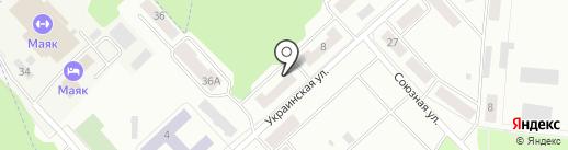 Орленок на карте Зеленодольска