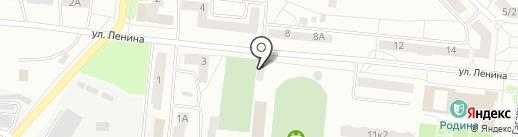 Комсомолец на карте Зеленодольска