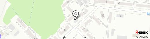 Галяутдинова Л.Ю. на карте Зеленодольска