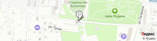 На Тукая на карте Зеленодольска