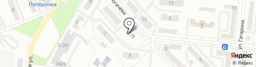 Следственный отдел по Зеленодольскому району на карте Зеленодольска