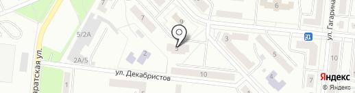 С на карте Зеленодольска