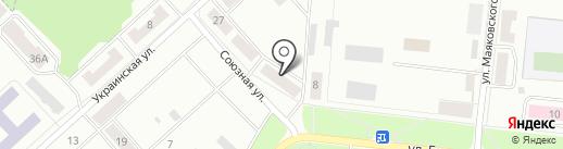 Сеть магазинов косметики и бытовой химии на карте Зеленодольска