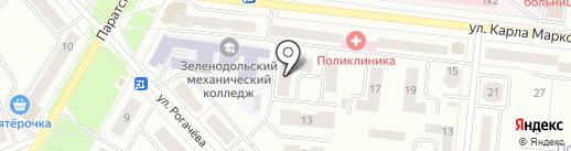 Для вас на карте Зеленодольска