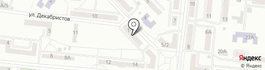 Вилиан на карте Зеленодольска