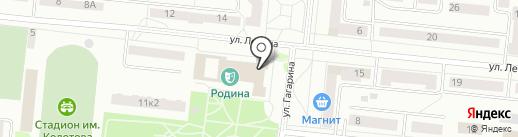 Библиотека №48 на карте Зеленодольска