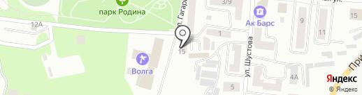 Клеопатра на карте Зеленодольска