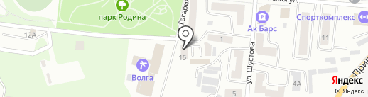 Ателье на ул. Шустова на карте Зеленодольска
