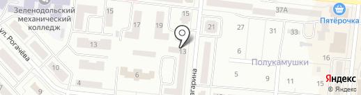 ФЕС на карте Зеленодольска