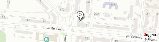Парикмахерская на карте Зеленодольска
