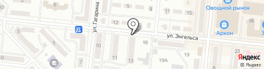 Йола на карте Зеленодольска