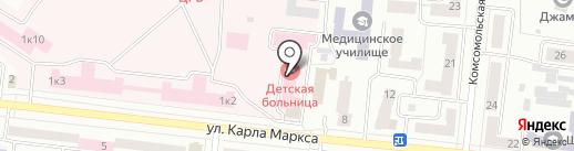 Поликлиника на карте Зеленодольска