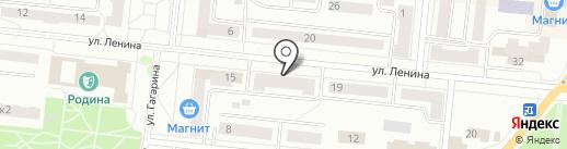 Lawine на карте Зеленодольска