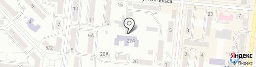 Медресе им. Абу Ханифы на карте Зеленодольска