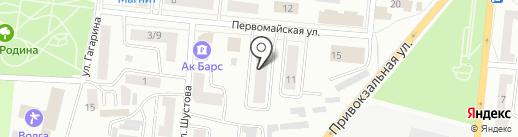 GRS на карте Зеленодольска