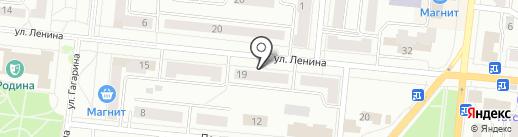 Рубин на карте Зеленодольска