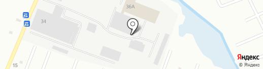 Компания Техно Связь на карте Ульяновска