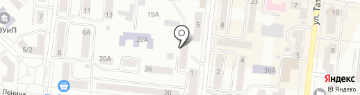 Адвокатский кабинет Ивановой О.Н. на карте Зеленодольска