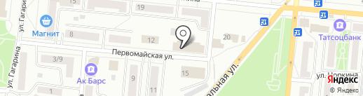 ФКП Росреестра, ФГБУ на карте Зеленодольска
