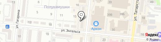 РоссТур на карте Зеленодольска