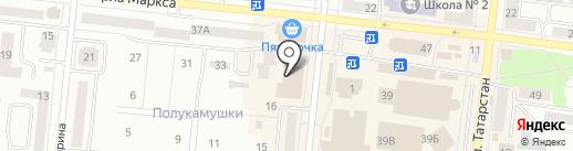 Седьмое небо на карте Зеленодольска