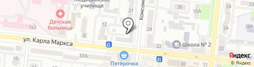 Чай-Кофе на карте Зеленодольска