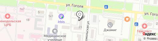 Имидж на карте Зеленодольска